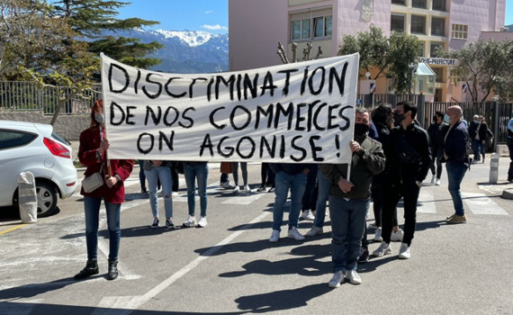 manif commerçants
